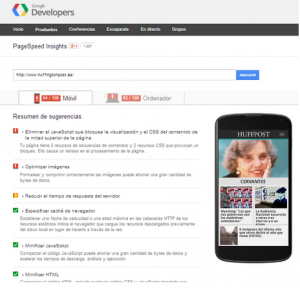 Page Speed Insights de Google