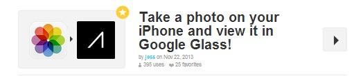 google glass ifttt