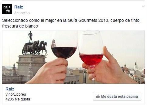 Facebook anuncio news feed