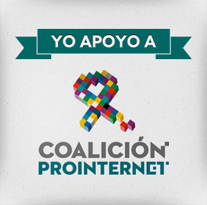 Apoyo Coalición Pro Internet