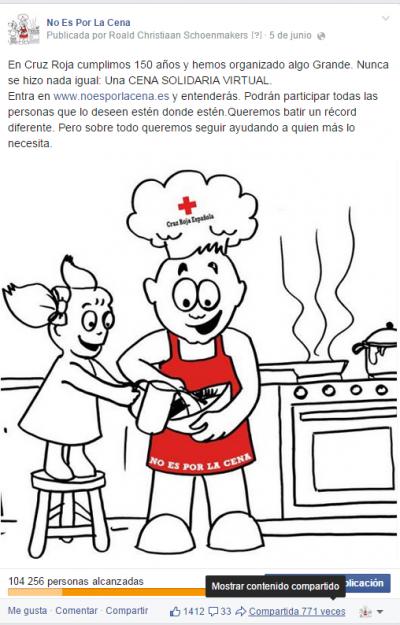 No Es Por La Cena Cruz Roja